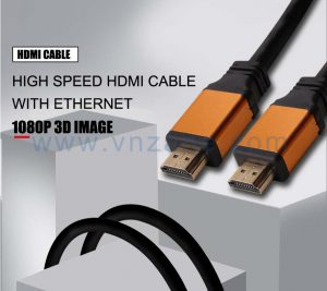 orange head jacket hdmi cable laptop to tv from vnzane