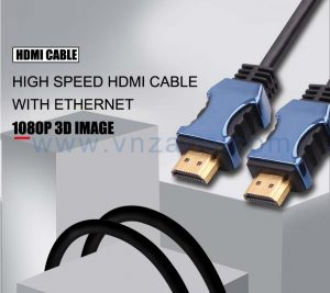 blue head jacket cable to HDMI from vnzane
