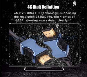 4K high-definition short HDMI cable