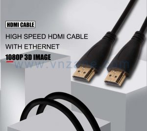 Black hdmi cable from vnzane