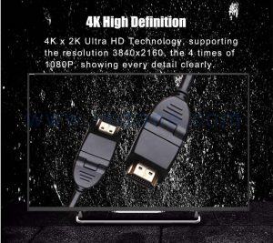 black HDMI Cable with competitive pricing
