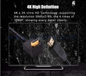 vnzane HDMI to av cable adapter for different devices data transmission