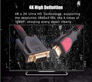 waterproof VGA to HDMI cable in bulk from vnzane