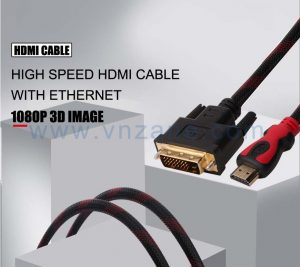 high-speed HDMI to DVI adapter cable from vnzane