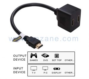vnzane audio video cable adapter for diverse devices